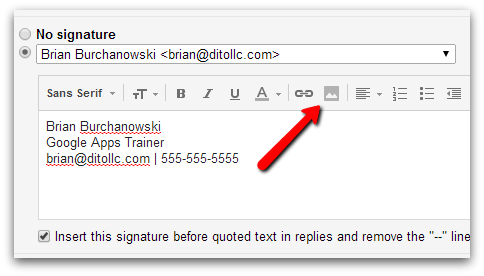 Make The Image In Your Gmail Signature A Working Hyperlink Google Cloud Premier Partner G